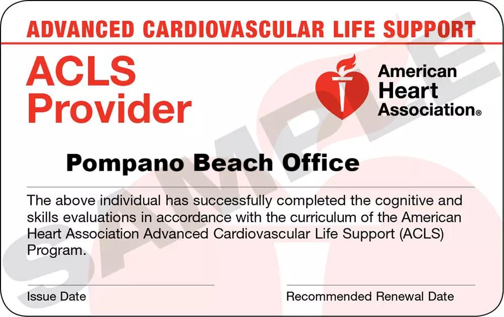 Fancy American Heart Bls Zertifizierung Image Collection - Online ...